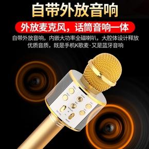 小蜜蜂扩音器K歌神器无线迷你腰挂便携式大功率喇叭话筒耳麦音响