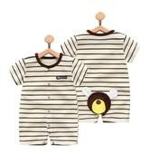 1岁 女宝宝夏装 3四4五5六6男7七8八9九10个月夏天婴儿连体衣服装