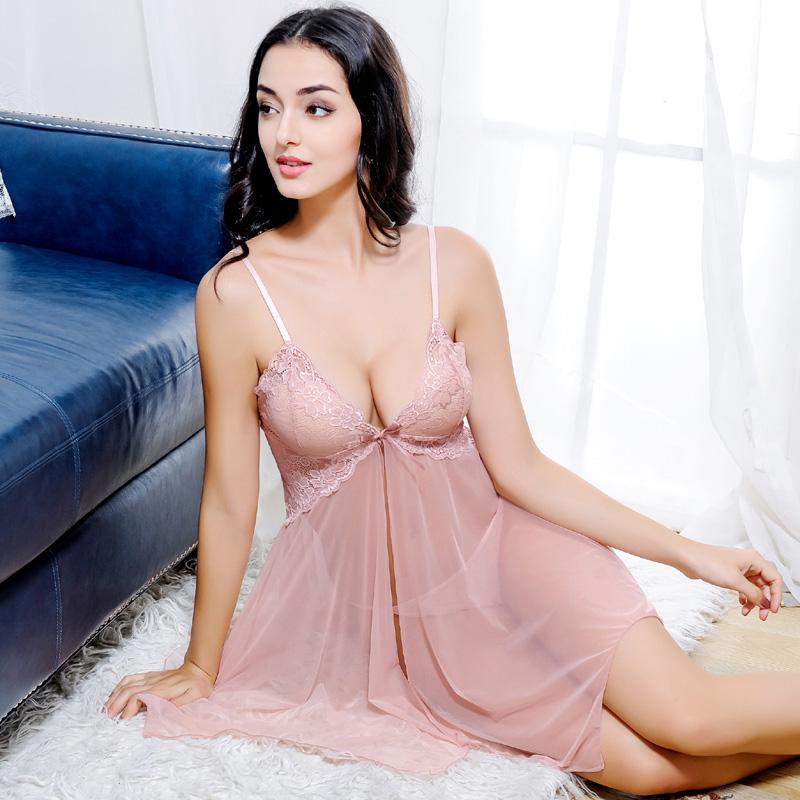 情趣性感睡衣女夏透明春秋薄款吊带内衣短成人公主睡裙午夜魅力