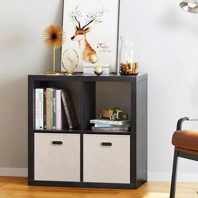 置物柜子储物柜简约柜子自由组合儿童书柜宜家家具收纳格子柜木柜