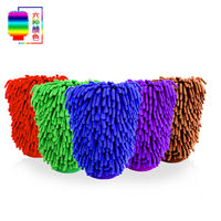 Car wash gloves tool double chenille cleaning car rag coral fleece plush thickening to increase car wash cleaning