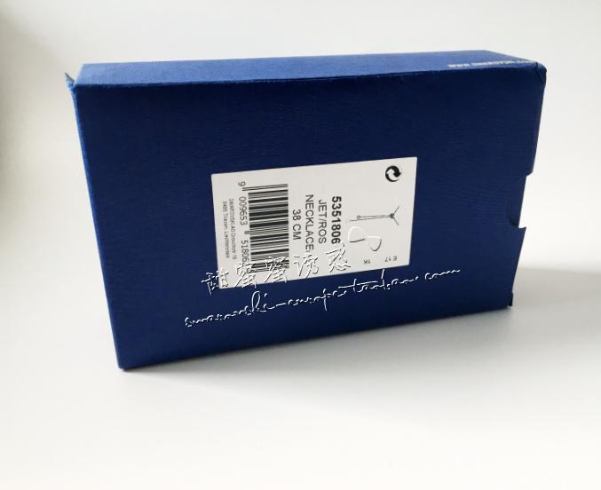 联保 施华洛世奇专柜正品黑天鹅水晶珍珠项链 5351806