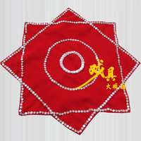 Handcuffs flower dance non-pair of Northeast Yangge two people turn square dance size octagonal towel examination professional skills