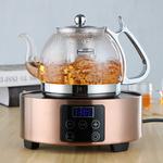 玻润 玻璃茶壶电磁炉专用玻璃烧水壶煮茶器黑茶电陶炉煮茶壶茶具
