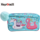 Kailu girl pencil bag creative girl children stationery bag primary school pencil bag 1-3-6 grade school supplies