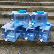 户外水箱带龙头纯净矿泉储水桶塑料食品级家用装水饮水桶车载大号