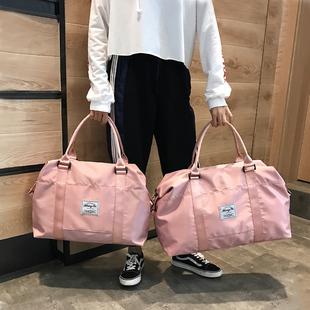 短途旅行包女手提收纳行李包网红大容量防水轻便外出差行李袋男潮