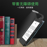 Kindle reading light LED night reading light e-book night reading bookmark USB rechargeable mini portable folding clip dormitory bed head flat 558