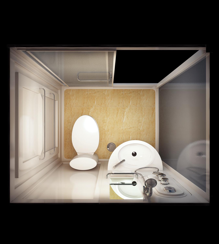 整体卫生间浴室日式组合厕所洗浴间淋浴房长方形独立集成卫浴家用