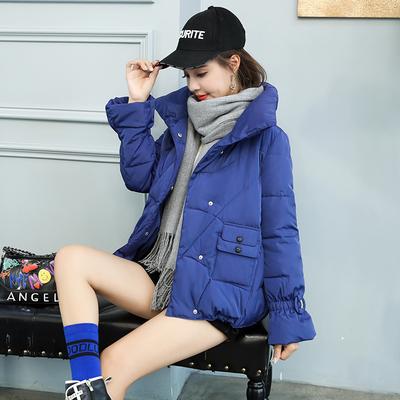 反季棉服女短款2018新款韩版面包服学生羽绒棉服加厚棉袄bf原宿风
