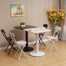 餐桌桌小桌子咖啡茶几阳台椅圆桌简约现代组合桌洽谈圆形阳台吧台