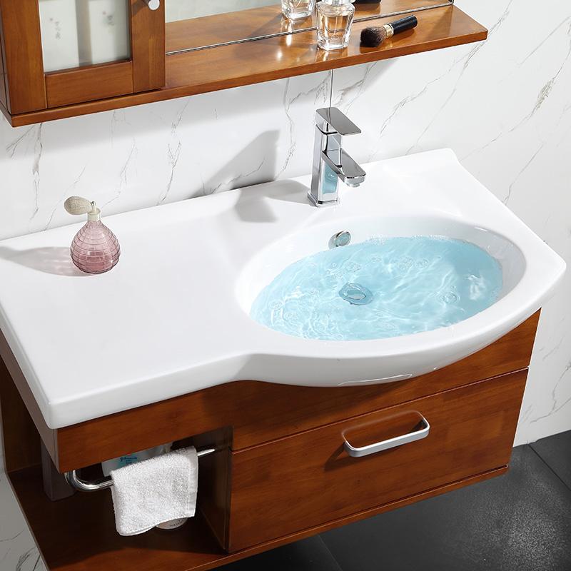 橡木浴室柜组合90cm