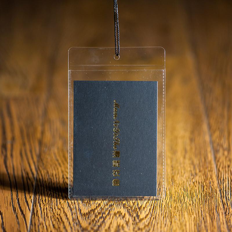 吊牌定做合格证标签服装吊牌定制纸卡片设计男女童装挂牌商标印刷