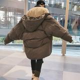 反季棉衣男中长款冬季外套男士韩版棉袄宽松加厚面包服男冬装棉服