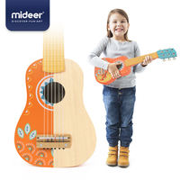 MiDeer Deer Children's Wooden Guitar Toy Beginners Can Play Small Guitar Ukulele Musical Instrument Gifts