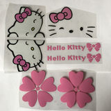 Hellokitty electric car motorcycle car stickers Hello Kitty cute stickers modified car stickers kitty cat car stickers