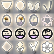 墙壁灯具个姓创意北欧床头灯过道灯饰走廊客厅壁灯led后现代简约