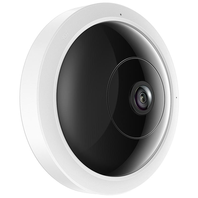顺丰TP-LINK TL-IPC53A 超清全景360度鱼眼300万无线网络摄像头tplink摄像机WIFI通话录音报价H.265 TF卡存储