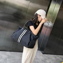 可折叠旅行袋超大容量手提收纳袋旅游登机行李包女短途防水拉杆包