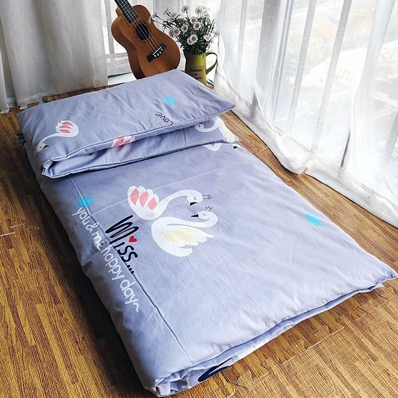 幼儿园床垫套褥套垫被套儿童纯棉被套婴儿全棉斜纹被罩床单