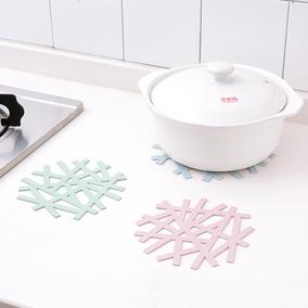 韩版硅胶砂锅垫隔热垫厨房防烫垫碗垫子餐桌垫耐热盘杯垫菜垫家用