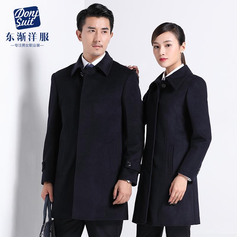 商务羊毛呢子大衣