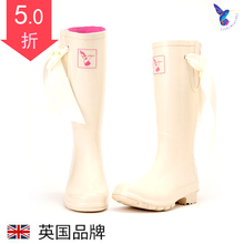 Evercreatures British Fashion Rainfall Shoes, Slippers, Rubber Rainfall Boots, Rainfall Shoes, Slip-proof Water Shoes