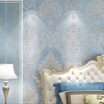 墙布3D立体凹凸大气家和5d电视背景墙壁纸简约现代客厅装饰壁画8d