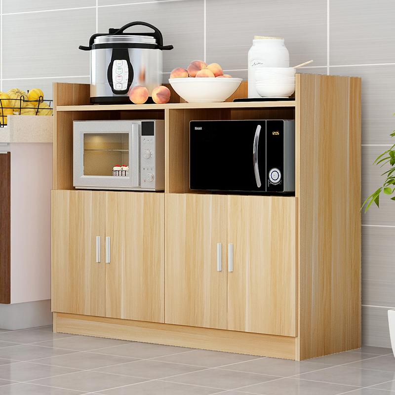 餐边柜橱柜碗柜微波炉柜收纳柜厨房柜简易置物柜茶水储物柜烤箱柜