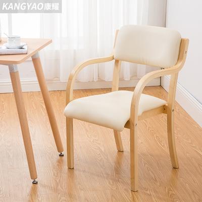 实木餐椅 日式