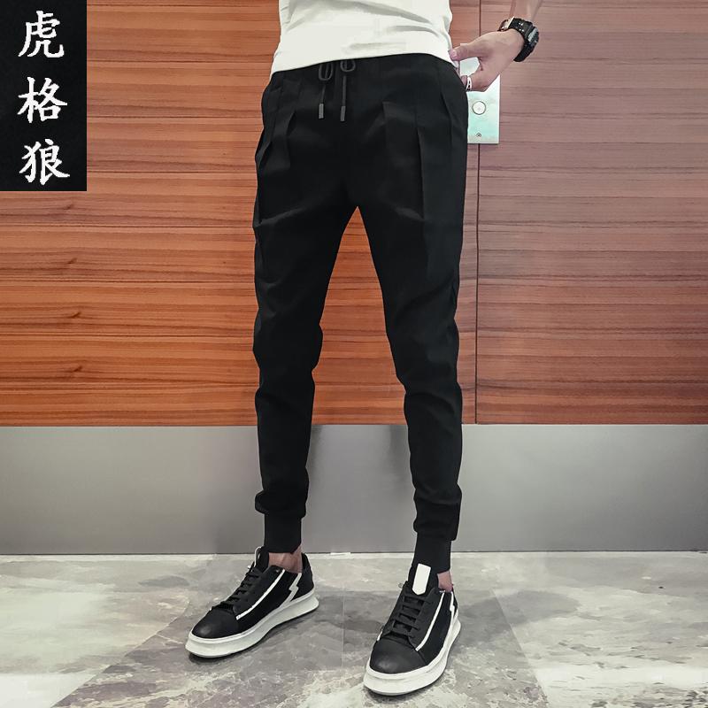 男低腰休闲裤