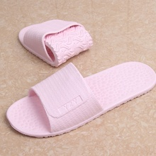 Travel Portable Foldable Couple Home Bathroom Skid-proof Hotel Hotel Men and Women Ultra-light Indoor Slippers