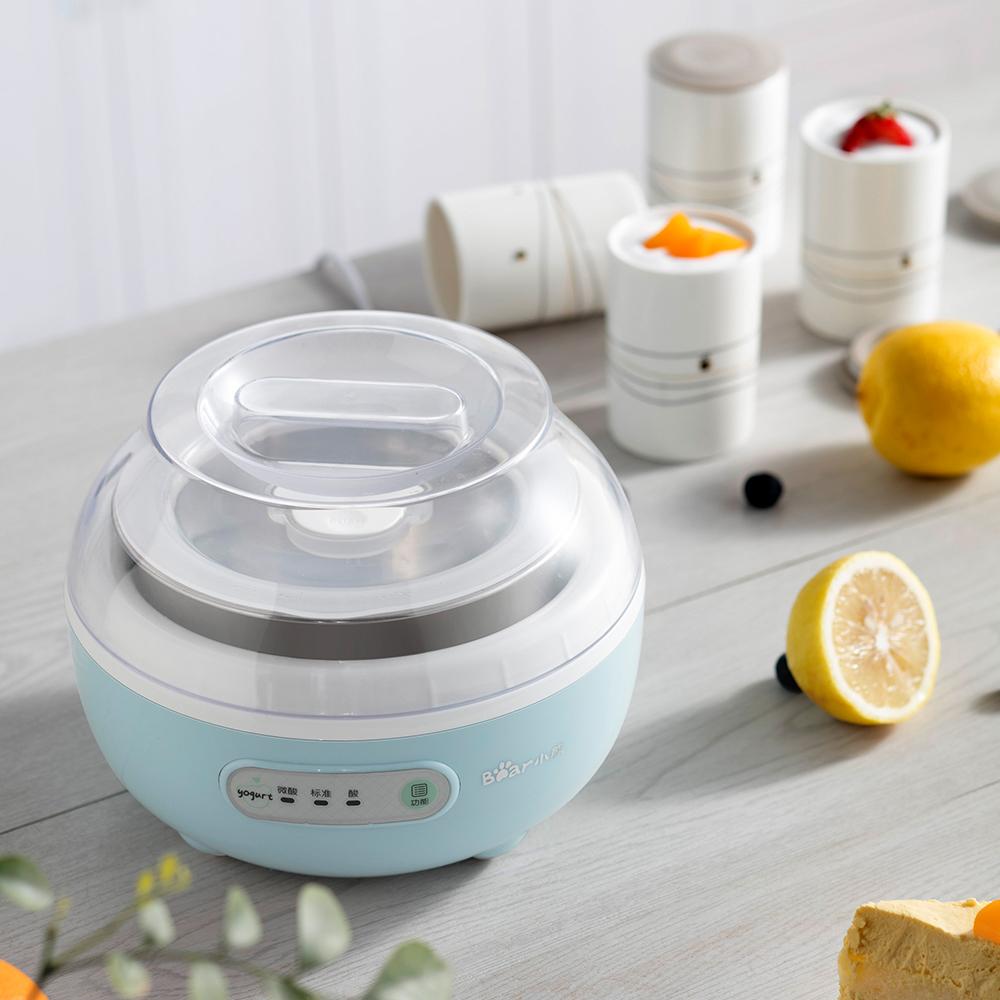Bear/小熊 SNJ-C10H1酸奶机调温机自制迷你分杯不锈钢家用全自动