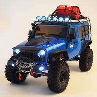 Ruitai 1/10 86100 Wrangler four-wheel drive remote control car RC model car adult professional off-road climbing car