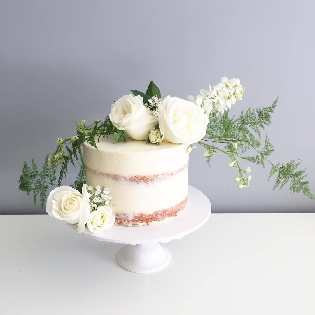 艺术花蛋糕