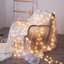 新年网红星星灯宿舍房间布置卧室家用过年小彩灯闪灯串灯新春装饰