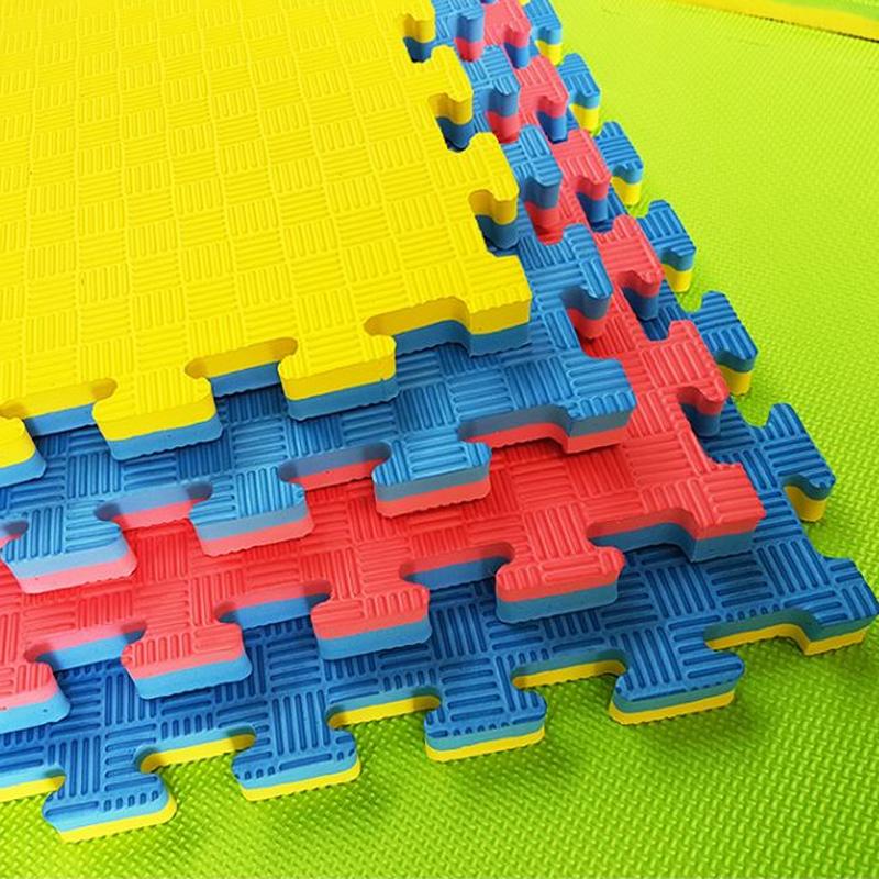 榻榻米健身房泡沫地垫儿童格斗创意散打专用道泰拳商用环保地毯安