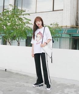 南风柳韩国Sonyunara-SALP01404123(41207)休闲裤