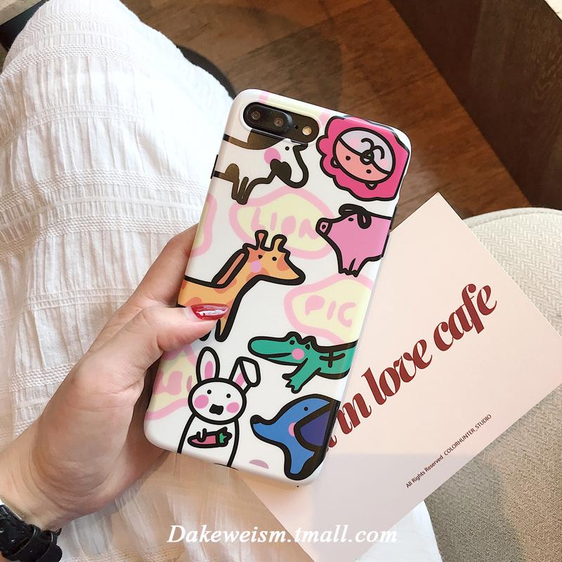 韩可爱动物手机包