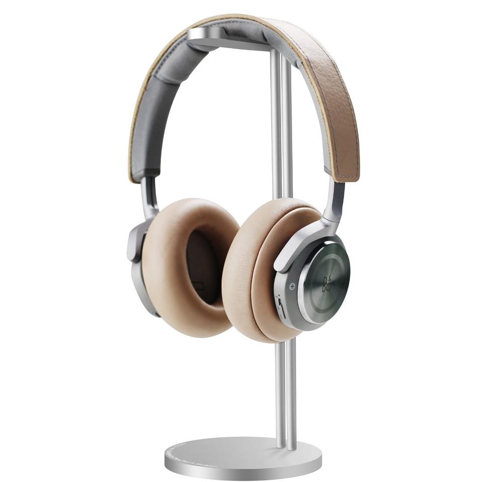 展架桌面簡潔方便鋁合金不銹鋼耳機架通用型創意整理通用配件黑色圖片