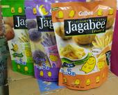 香港进口卡乐比薯条淡盐味袋装 膨化食品零食 90g薯条三兄弟 包邮