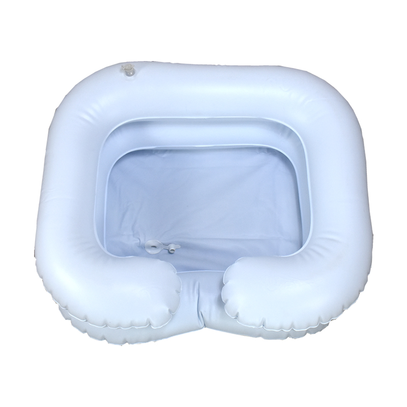 充气式洗头盆卧床病人老人床上洗发盆便携折叠式洗头盆
