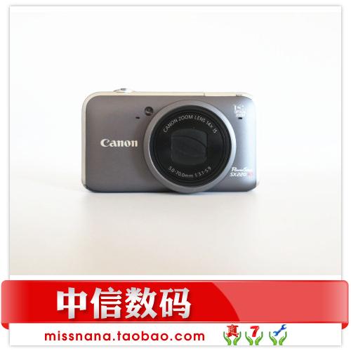 画质清晰金属质感Canon/佳能 PowerShot SX220 HS数码相机