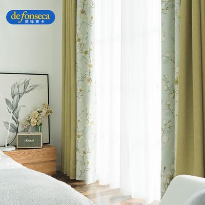 地中海窗帘客厅窗帘多少钱