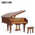 钢琴音乐盒木质八音盒Sankyo天空之城情人节结婚女生儿童生日礼物