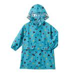 日本正品mk星空小熊儿童雨衣幼儿园小学生风雨衣有书包位收纳袋