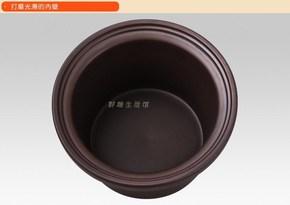 电炖锅煮粥煲汤锅陶瓷煲粥紫砂内胆电炖盅盖子1.5L2.5L3.5L4.5L6L