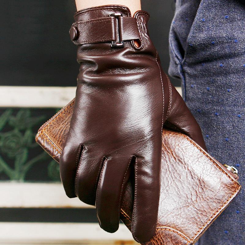 羊皮保暖手套