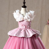 Sleeping Beauty Princess Dress Children's Costumes Ice Romance Aisha Birthday Dress Summer Ai Luo Princess Skirt