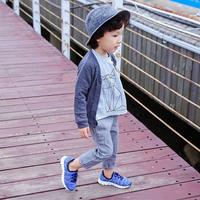 壹果Yiigoo童鞋男童女童宝宝中小童飞织弹力针织休闲运动鞋